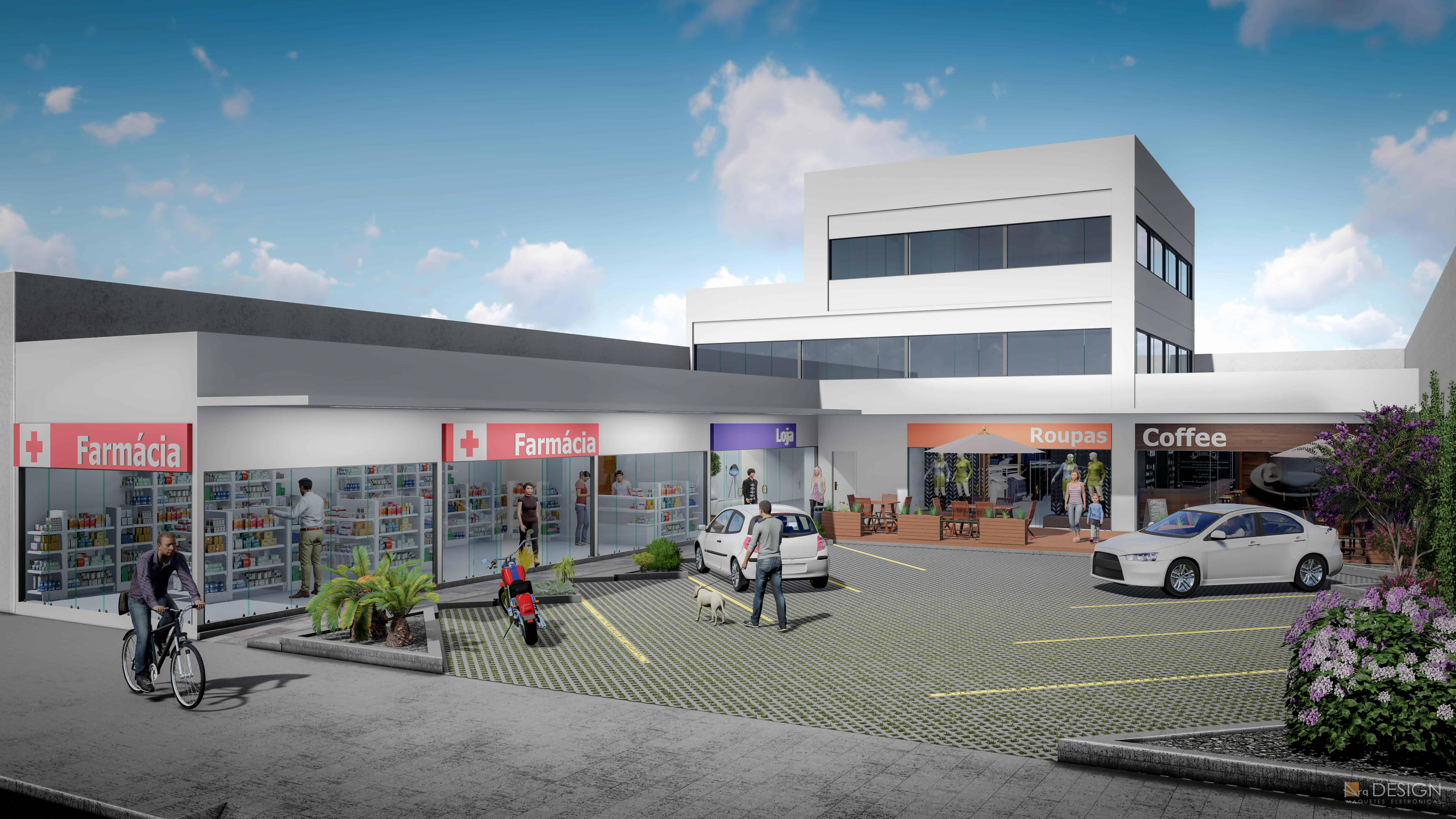 Centro Comercial Av. São Pedro, 608